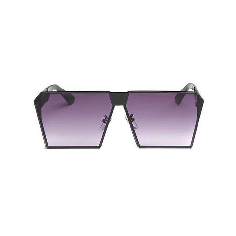 Oversized Square Mirror Bigs Sunglasses
