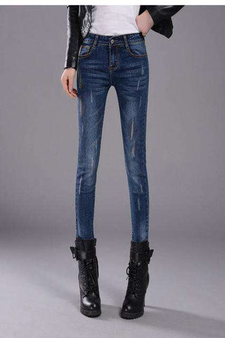 Skinny Pencil Jeans - Wear.Style