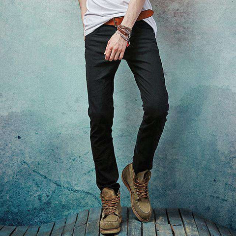 Slim Straight Fit High Quality Full Length Jeans