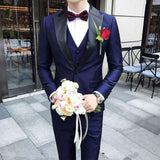 Shawl Satin CollarTuxedo Suit