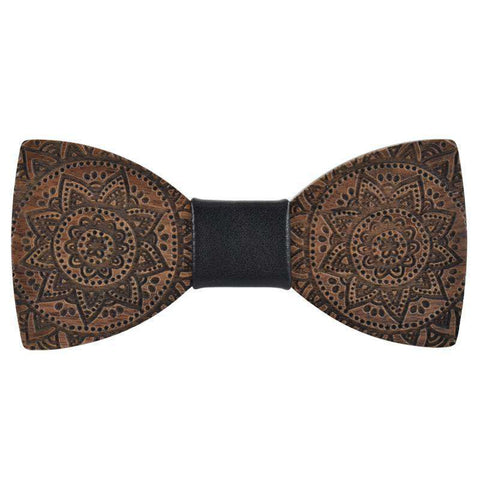 Hardwood Handmade Butterfly Wood bow Tie