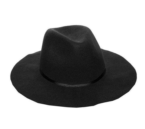 100% Wool Floppy Trilby felted hat