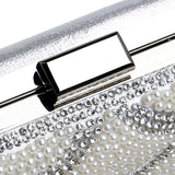 Beaded Shoulder Handbags Diamonds Clutch Bag