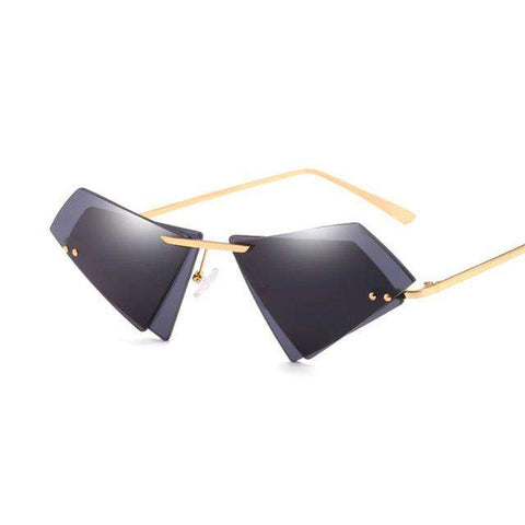 Sexy Cat Eye Polarised Designer Triangle Sun Glasses