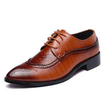 Classic Point Toe Oxfords Shoes