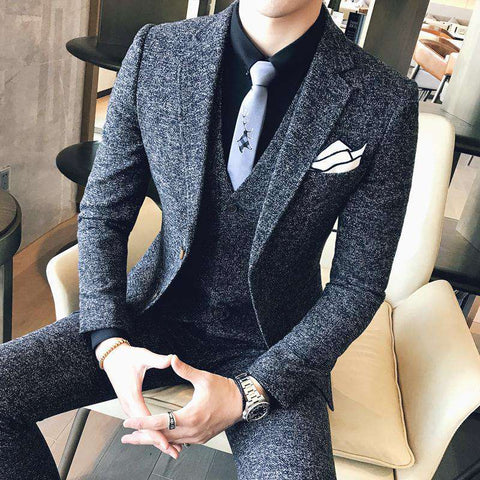 Self Cultivation Three-piece Suit