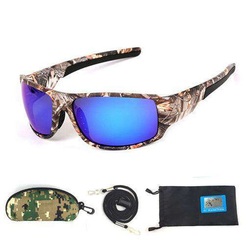 Camouflage Polarised Outdoor Sports Hiking Driving UV400 Oculos Sunglasses