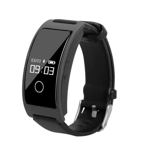 Fitness Heart Rate Monitor Blood Pressure Smart Bracelet Watch for iPhone Android Phone
