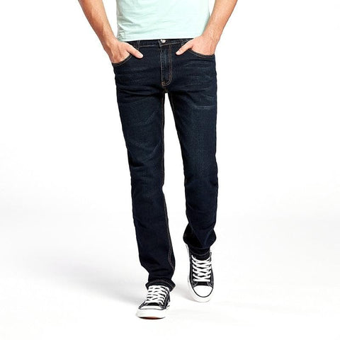 Stretch Denim Regular Jeans