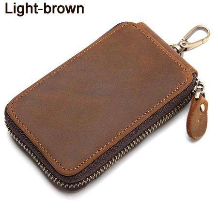 Genuine Leather key holder Wallet Pouch