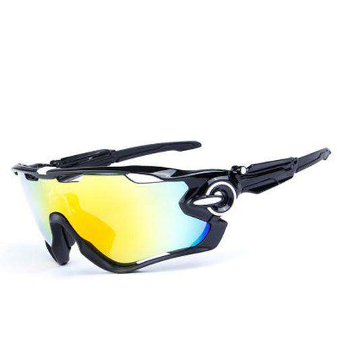 2 Frame Polarised Outdoor Sport Sunglasses TR90 UV400 Fishing Eyewear 5 Lens