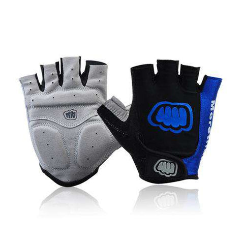 Breathable Lycra Fabric Outdoor Sports Unisex Gloves