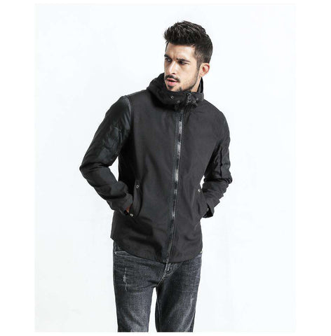 Hooded Slim Fit Plus Size High Quality Jacket