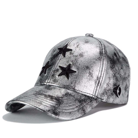 Baseball Graffiti Pentagram Embroidery Sports Unisex Cap