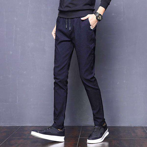 Stretch Slim Slacks Pants