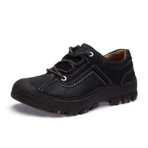 Breathable Waterproof Non-Slip Genuine Leather Shoes