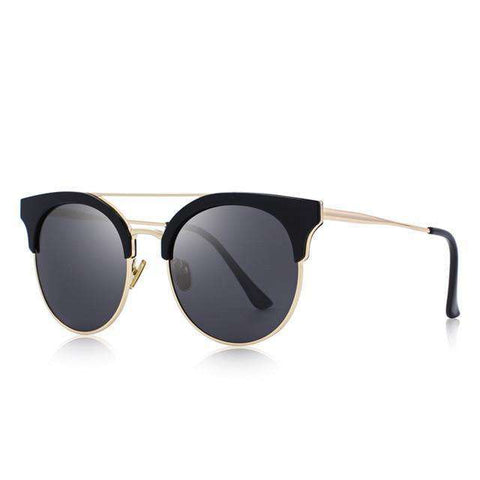 Cat Eye Polarised Twin-Beams Shades UV400 Sunglasses