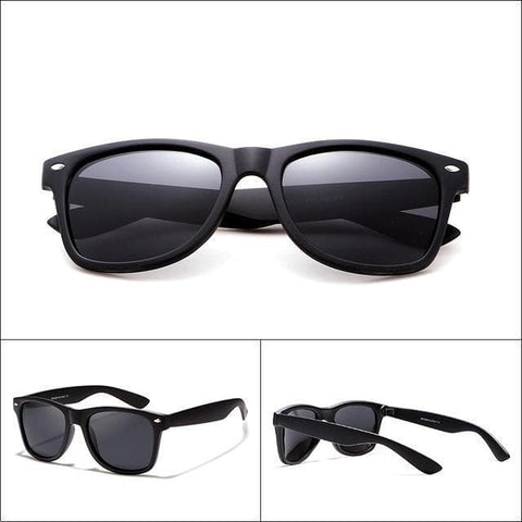 Glare-reducing 54mm Lens Driver Polarized Sunglasses With Gift Box