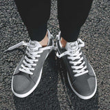 Lace Up Breathable Hard-wearing Sneakers Shoes