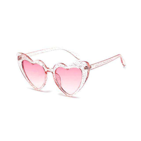 Heart Shaped Frame Designer Trendy Sunglasses UV400
