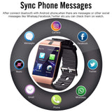 Bluetooth Smart Watch Android Phone Call SIM TF Camera for IOS Apple iPhone Samsung HUAWEI