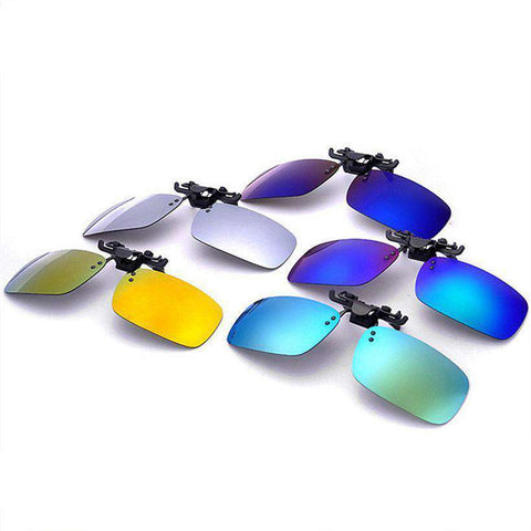 Polarised Clip on Mirror UV400 Driving Sunglasses
