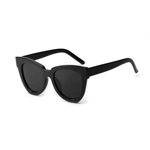Cat Eye One-piece Fashion Trend Square Designer Sunglasses UV400 K9592
