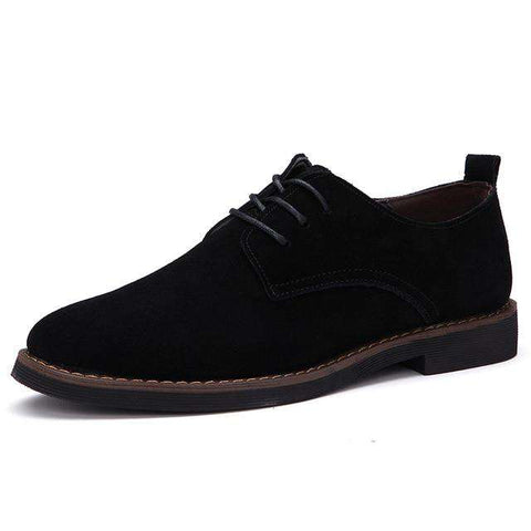 Oxfords Suede Leather Luxury Shoes