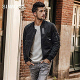 Rib Sleeve Slim Fit Jacket
