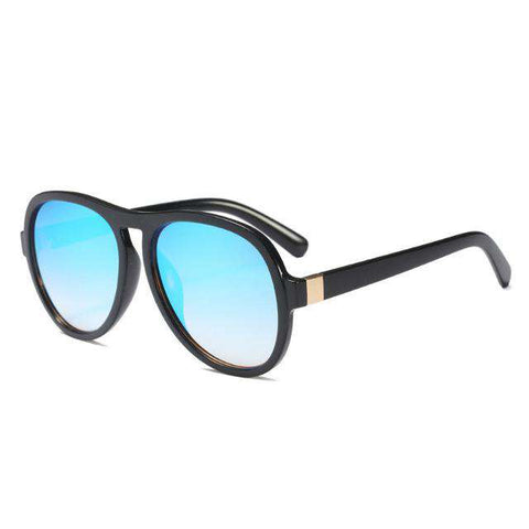 Oval Designer Big Eyebrows Eyewear Oversized Sunglasses UV400