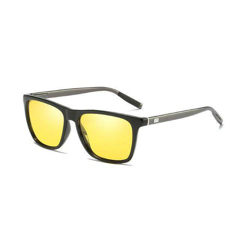 Square Polarized Black Cool Travel High Quality SunGlasses