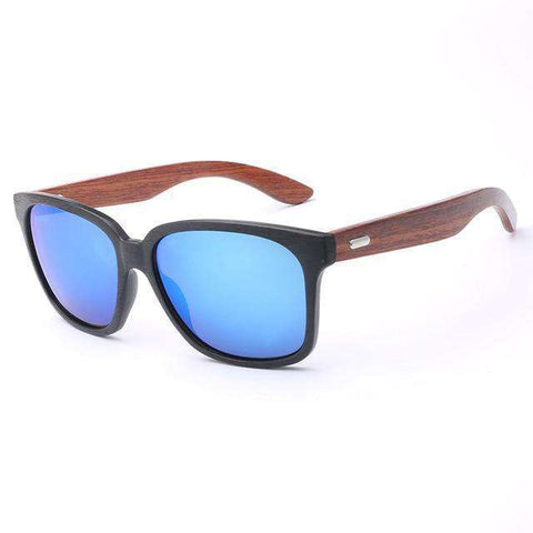Designer Bamboo UV400 Sunglasses