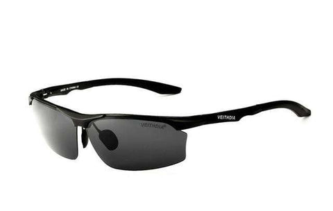 Aluminium Magnesium Polarised Mirror Sunglasses