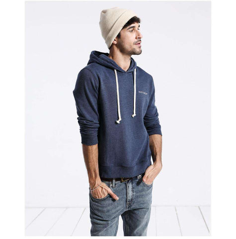 Embroidered Hooded Pullover Sweatshirt