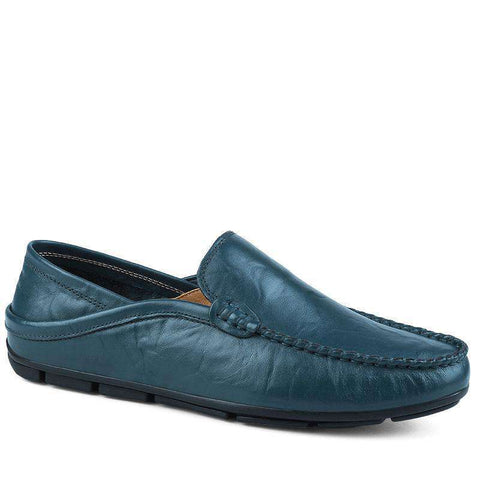 Genuine Leather Breathable Flats Loafer shoes
