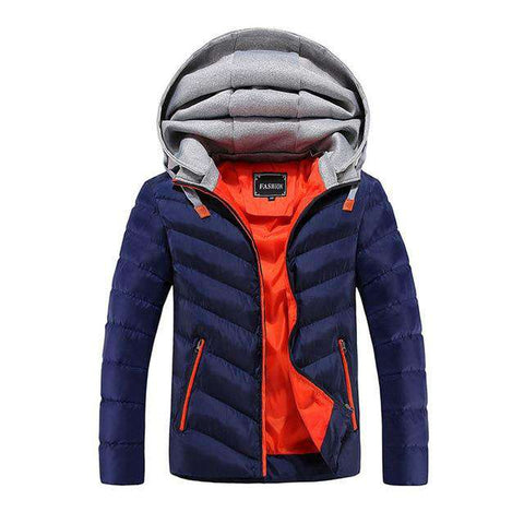 Hooded Thick Cotton Jacket