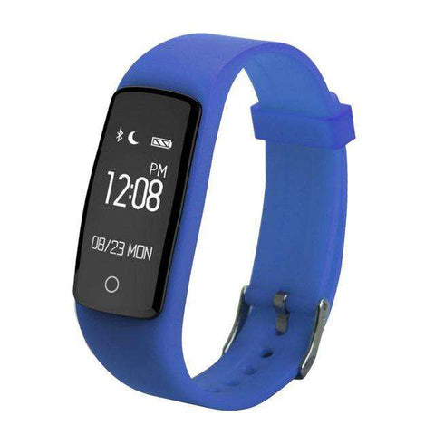 Smart Bracelet Bluetooth 4.0 Waterproof Wristband With Smart Heart Rate Fitness Sports Tracker for IOS Android