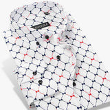 High Quality 100% Cotton Luxury Long Sleeve Button Down Shirt