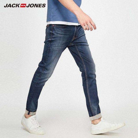 Jack&Jones Elastic Splash-ink Design Jeans