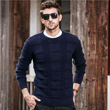 O-Neck Jumper Knitted Sweater Pullover