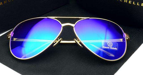 Polarised UV400 Mirror Lens Sunglasses