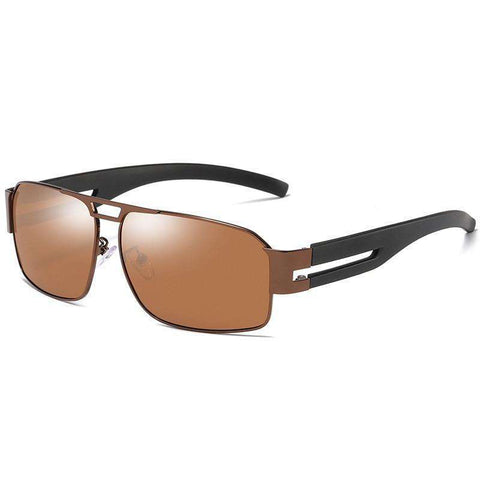 Polarized Driving Rectangle Shades Sunglasses