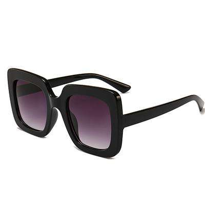 Unique Stripe Square Designer Colourful UV400 Sunglasses