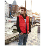 Single Breasted Duck Down Warm Sleeveless Slim Fit Jacket