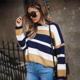 Long Sleeve O Neck Thick Warm Sweater Pullover