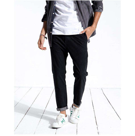 Slim Fit Ankle-Length Denim Pants Jeans