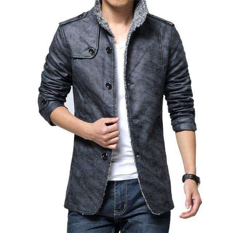 Warm Thick Motorcycle Anti-scratch Leather Jackets