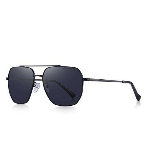 Classic Square Aviation Frame HD Polarised Sunglasses For Driving UV400 Protection