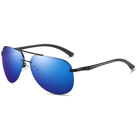Driving Pilot Mirror UV400 Classic Polarized Sunglasses