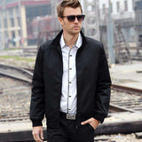 Slim Stand Coat Windbreaker Jackets